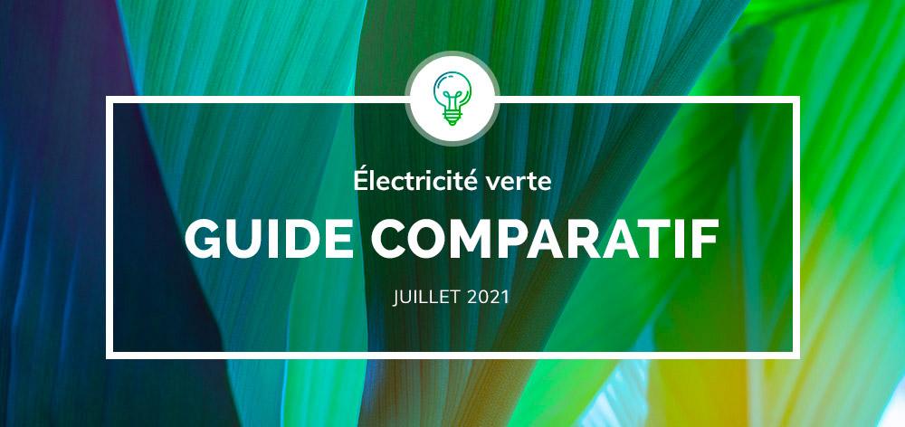 Comparatif d'électricité verte : une simulation claire pour vous permettre de faire votre choix (2021)